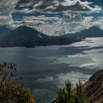 """....der """"Lago de Atitlan"""" - einer der schönsten Seen der Welt"""