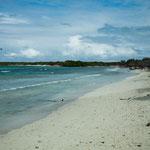 Die Insel Santa Maria im Norden Kubas.....