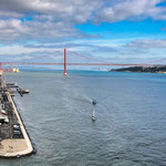 """...die """"Golden Gate-Brücke"""" von Lissabon..."""