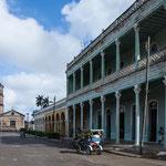 ....auch hier tolle koloniale Gebäude - etwas schäbig.....