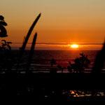 "Sonnenuntergang am ""Heceta Beach"""