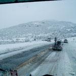 Schneefall am 18. Mai in Utah