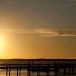 Was für Sonnenuntergänge über dem Pazifik