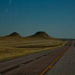 Landschaft südlich der Black Hills