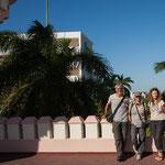 Das Reiseteam (von rechts): Uwe, Claudia, Rita und Rudi