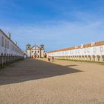Ehemaliges Kloster - dann Militär-Unterkünfte auf Cabo Espichel...
