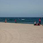 Los Barriles ist ein Kite surfer Paradies .....