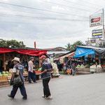 ....die Hauptstrasse ist auch der Markt