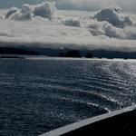 ...der Prince William Sound ist gesprenkelt mit Inselchen - aber gefährlich....