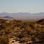 """Die Durchquerung der """"Sierra de Juarez"""" (bis zu 2.000 m hoch)"""