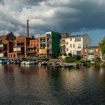 ...alte Fabrikgebäude wurden umgewandelt in tolle Wohnanlagen...