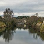 ...der Fluss L'Orb...