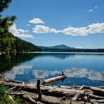 """...und zum """"Butte Lake""""."""