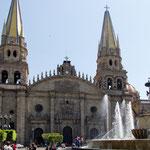 Die wunderschöne Kathedrale von Guadalajara