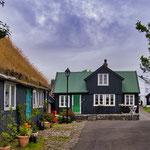 ...was uns an Thorshaven beeindruckt hat sind die vielen bunten Holzhäuser...