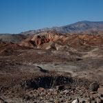 """Das """"Sierra San Pedro Martir"""" Gebirge ist bis zu 3.000 m hoch"""