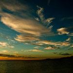 .....auch in Los Frailes sahen wir einen solchen Himmel nur einmal.