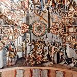 Grandiose Malereien in den Kirchen