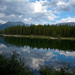 "der ""Lower Kananaskis Lake"""