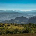 Ausblick vom Weg Hierva El Agua nach Mitla