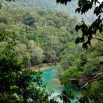 """Der wunderbare """"Rio Euseba"""" auf dem Weg zum """"Las Nubes Wasserfall"""""""