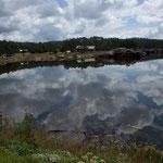 Der See bei Puentecillas....