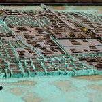 ein Modell der ehemaligen Aztekenstadt - wie sie Cortez vorfand