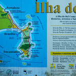 ...die Form der Ilha do Mel...