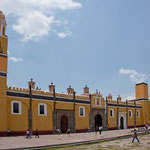Capilla Real errichtet 1540 und älteste Kirche Cholulas....