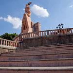 Pipila Denkmal - der Freiheitskämpfer