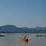 ...diese wunderschönen Boote und Netze fangen heute nichts mehr.....