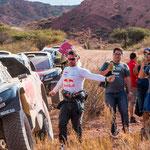 ...der x-malige Rally-Weltmeister Christian Loeb fuhr zum ersten Mal die Dakar mit...