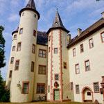 Das Schloss von Lohr am Main....