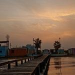 Der Dock von Lopez Mateo ist der schönste Teil des kleinen Städtchens