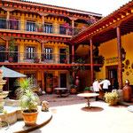 "Innenhof des Hotels ""La Parroquia"""