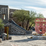 """...Das Museum """"Pachtmama"""" gebaut von S. Cruz ist einfach nur schön..."""