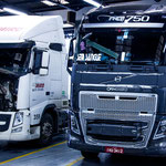 ...und wir waren erstaunt einen 750 PS starken Volvo hier im Süden Brasiliens zu sehen...
