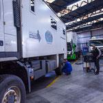 Wieder Mal fantastische Betreuung von Volvo in Südamerika...
