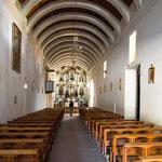 ...die Kirchendecke aus Kakteenholz...