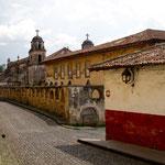 Die erste Kirche von Patzcuaro aus dem 16ten Jahrhundert