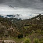 "Der Beginn des ""Grand Canyons von Ecuador...."