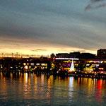 Sydney Harbour bei Nacht....