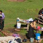 So wir im Hochland von Chiapas die Wäsche gewaschen