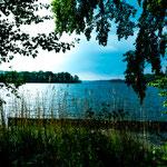 ...und einen riesigen See um die Ecke