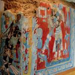 """alte """"Murals"""" = Wandmalereien"""