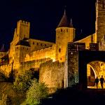 Bei Nacht ist die Burgstadt...