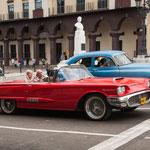Manche 50 Jahre alten Cadillacs sind wunderschön herausgeputzt - als Taxis