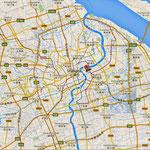....hier die Karte von ganz Shanghai