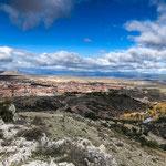 ...Soria und das Umland von oben
