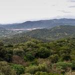 Fahrt durch den bergigen Süden Sardiniens